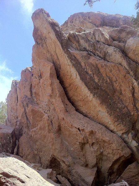 Rock Climbing Photo: Arrowhead Boulder