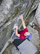 Rock Climbing Photo: Matt in LCC
