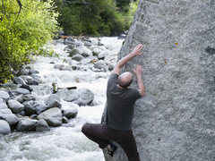 Rock Climbing Photo: Patrick on Big Guys in LCC