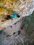 Rock Climbing Photo: Crux #2. Photo by Dean Lords