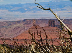Rock Climbing Photo: Castle Valley from the La Sals. A beautiful perspe...