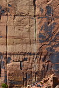 Rock Climbing Photo: Generic Crack from Supercrack Buttress