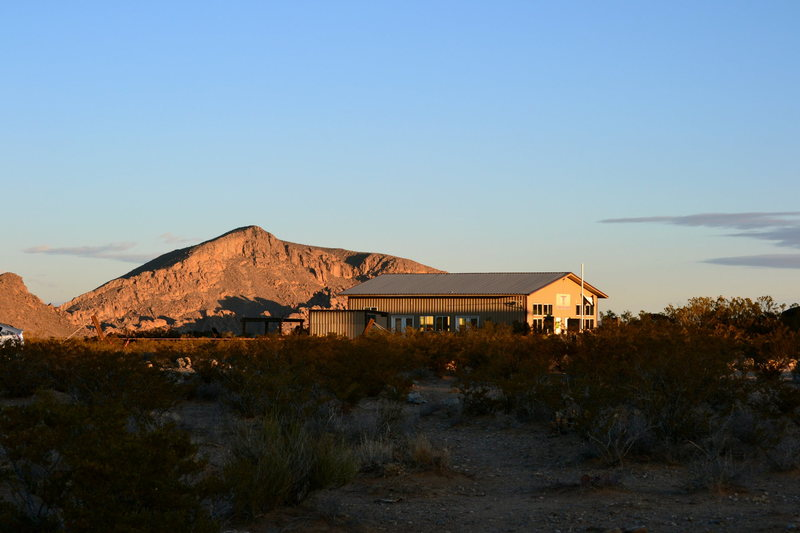 The newly renovated AAC Rock Ranch
