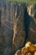 Rock Climbing Photo: Russian Arete. Bailing off of this in the rain is ...