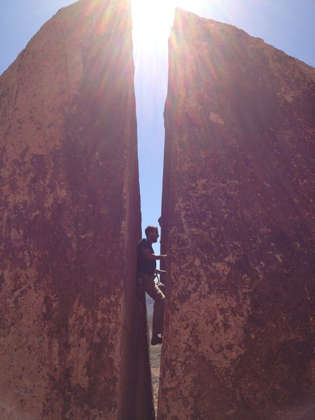 Plumbers Crack Red Rock