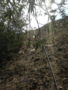 Rock Climbing Photo: bro starting up far left