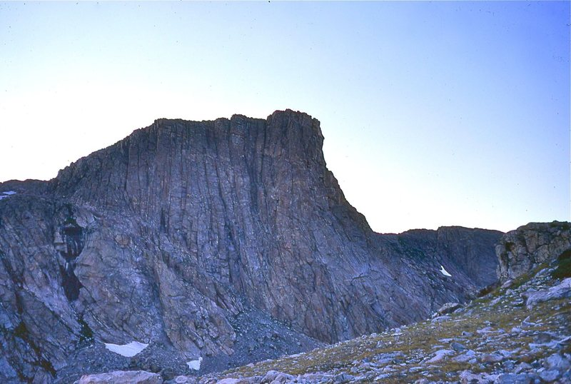 Rock Climbing Photo: Peak 11368, which appears to have better quality r...