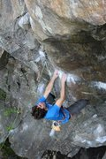 Rock Climbing Photo: Joe on Cosmic