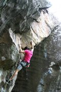 Rock Climbing Photo: one more of sam on Cosmic