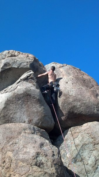 Rock Climbing Photo: the suspect.