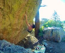 Rock Climbing Photo: Chained Heat.