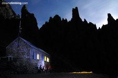 Rock Climbing Photo: Victory refuge