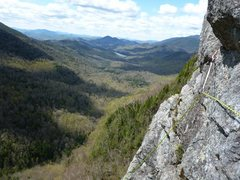 Rock Climbing Photo: I believe we were slightly right of where we shoul...