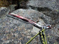 Rock Climbing Photo: Ramp belay station. Can't miss it.
