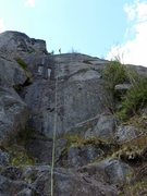 Rock Climbing Photo: and another rappel