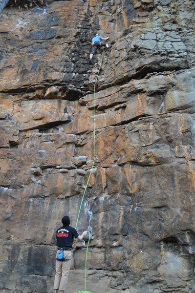 Rock Climbing Photo: Green Goblin
