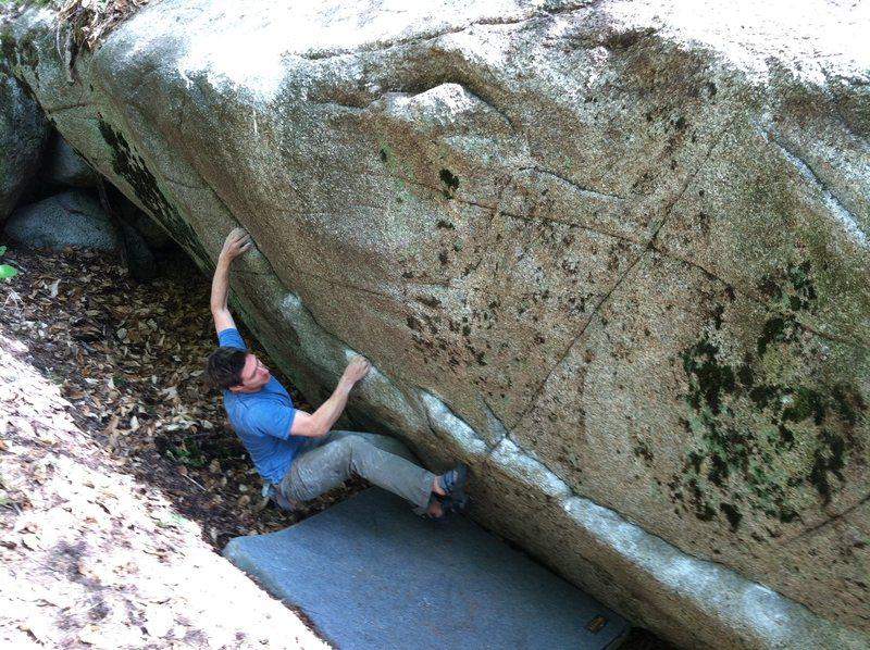 Rock Climbing Photo: The John Henry Traverse