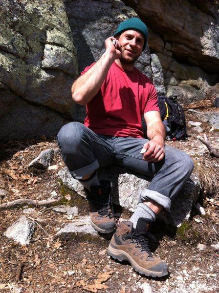 Rock Climbing Photo: Matty at the gunks