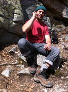 Rock Climbing Photo: Matty at the gunks