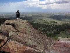 Rock Climbing Photo: Summit view.