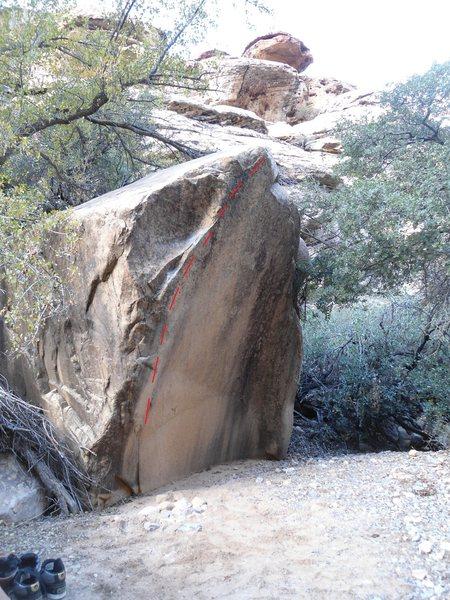 Rupis boulder.