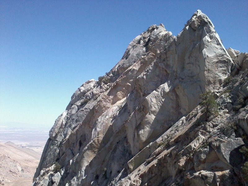 Rock Climbing Photo: North Face of Rock I
