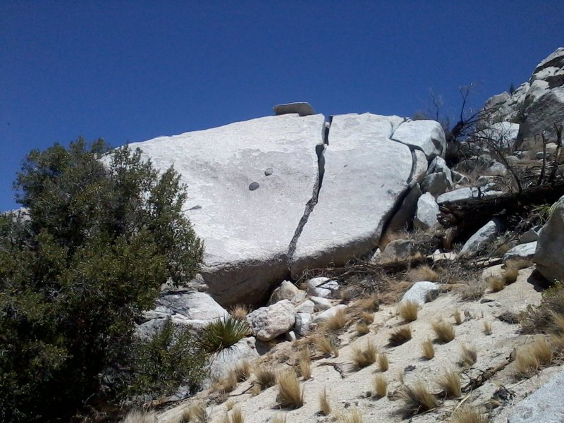 Rock Climbing Photo: Located on the approach to Rock I, some bouldering...