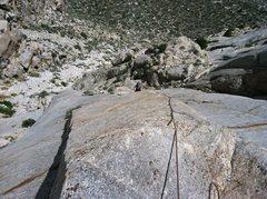 Rock Climbing Photo: Fun climbing up the left side of PSOM Pinnacle.