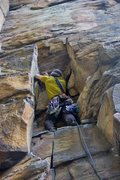 Rock Climbing Photo: Jumpin' Ring Snakes 5.9