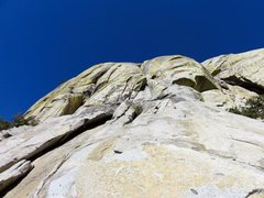 Rock Climbing Photo: Summer Sojourn starts off to the right of this pho...