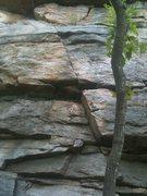 Rock Climbing Photo: The start of Tequila Mockingbird
