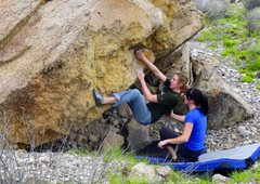 Rock Climbing Photo: Jennica Hirrlinger climbing Jennifer Aniston.