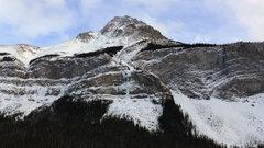 Rock Climbing Photo: Curtain Call from Jasper Highway. November '12.