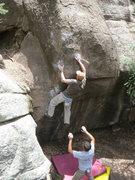 Rock Climbing Photo: Two Bonobos at West Elden.
