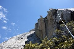 "Rock Climbing Photo: Alternate ""upper slabs"" finish on pitch ..."