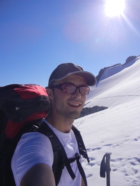 Rock Climbing Photo: snow