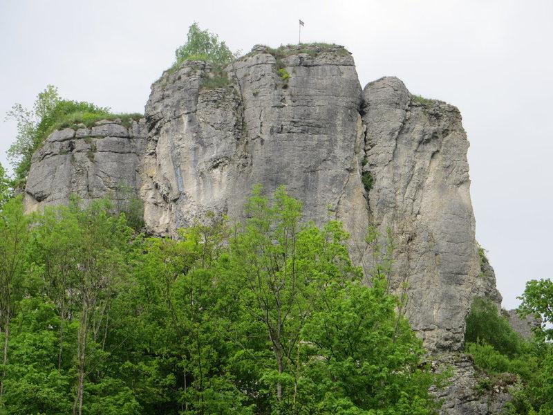 Rock Climbing Photo: Streitberger Schild