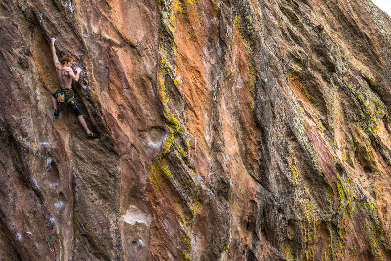 Best hard sport route in the Front Range?<br> One of many amazing photos by Eric Ian.