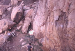 Rock Climbing Photo: We din't need no stinking harnesses!  Mary Byron, ...