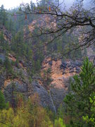 Rock Climbing Photo: Black Betty Falls.  The Black Betty area is right ...