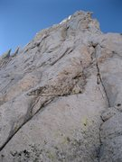 Rock Climbing Photo: Looking up from the start.