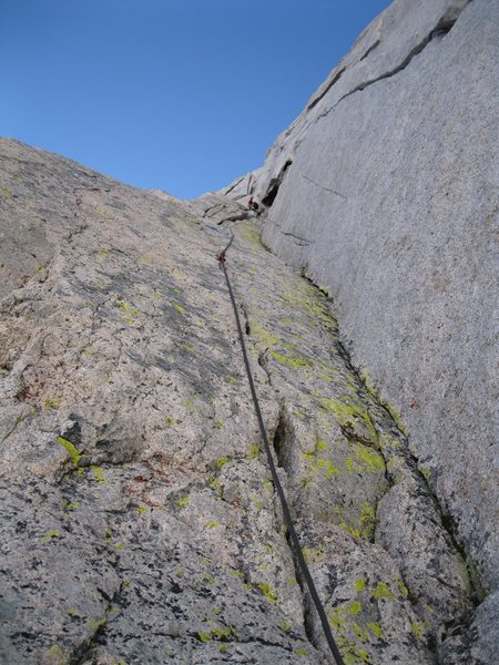 Looking up to really fun crack system. About 5.9.