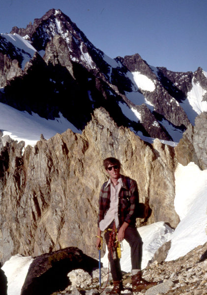 Climbing the North Ridge - 1979