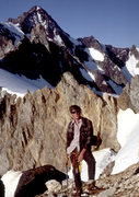 Rock Climbing Photo: Climbing the North Ridge - 1979