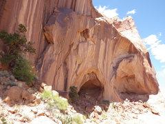 Rock Climbing Photo: SIC FUN RAMP (ARCH)