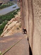 Rock Climbing Photo: comin up
