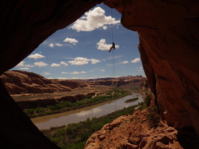 Rock Climbing Photo: the rap