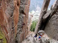 Rock Climbing Photo: Ty Eversaul on The Quickening.