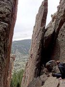 Rock Climbing Photo: Eric on Tabula Rasa.
