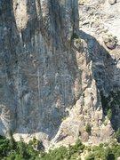 Rock Climbing Photo: Lower half of NEB.